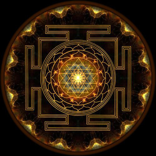 closer look to the symbol of Sri Yantra