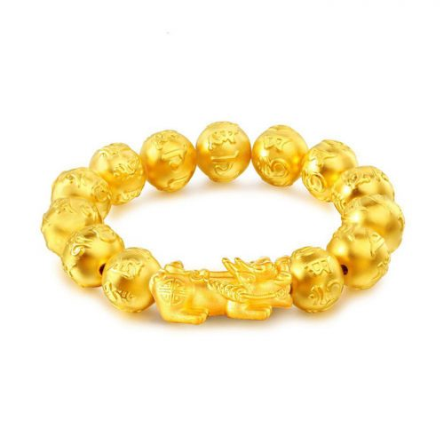 Gold Plated PIXIU Wealth Bracelet
