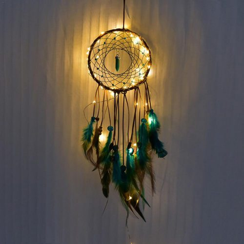Handmade Crystal Dream Catcher