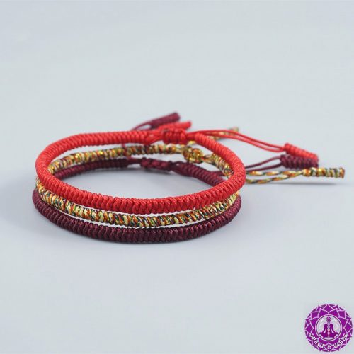 Buddhist Lucky String Bracelet