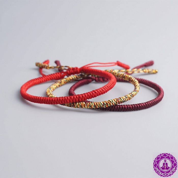 three parts of Budhhist monks lucky bracelet