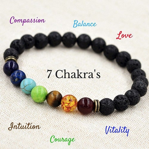 6 benefits of wearing chakra bracelet