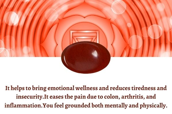 Red Jasper stone benefits