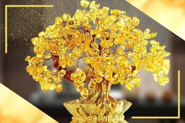 citrine tree of life and its meaning