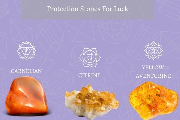 three protection stone for luck