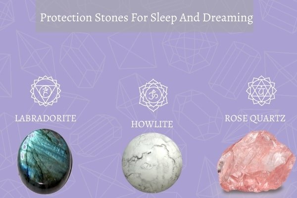 three protection stone for sleep and dreaming