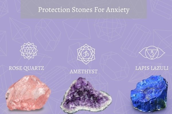 three protection stones for anxiety