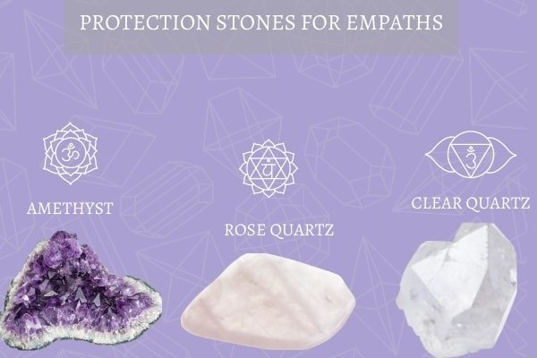 three protection stones for empaths
