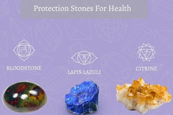 three protection stones for health