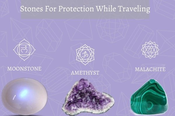 three protection stones while traveling